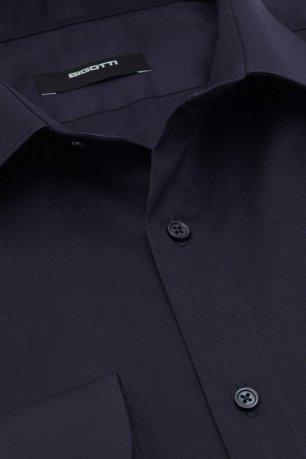 Camasa slim bleumarin uni