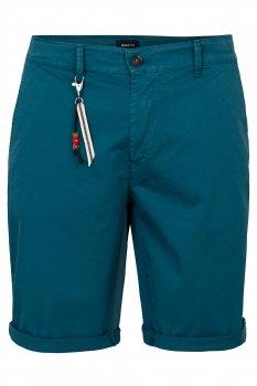 Pantaloni scurti slim Albastri Uni