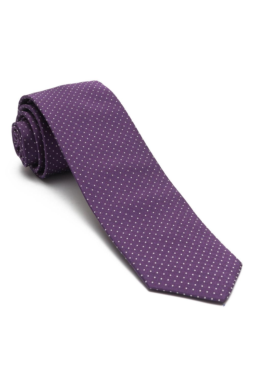 f0e0bd330d6f Cravata matase tesuta mov print geometric - Bigotti.ro ...