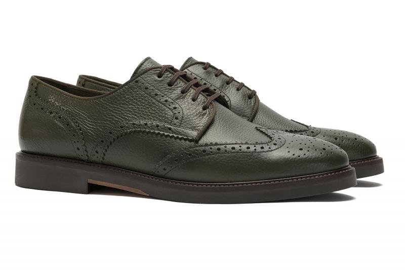 Pantofi kaki piele naturala
