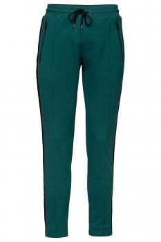 Slim body Green Plain Trouser