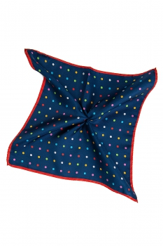 Batista Bleumarin print geometric