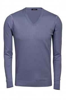 Slim body Purple Sweater