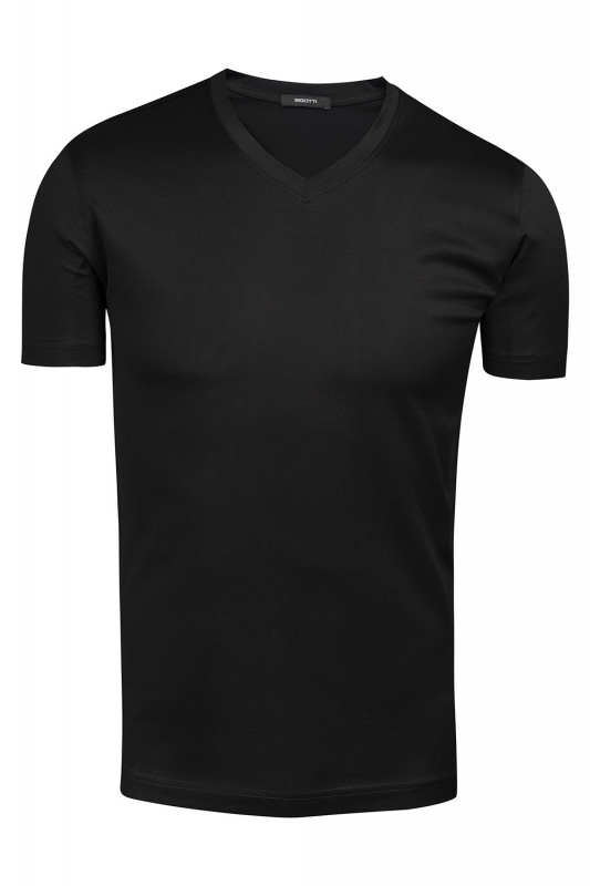 Tricou slim evening negru