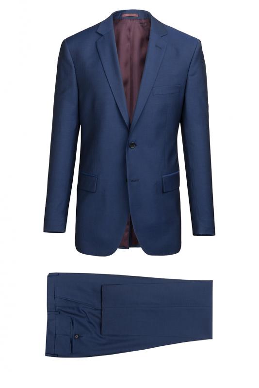 Costum slim erico albastru uni