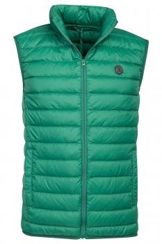 Slim body Green Plain Waistcoat