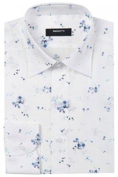 Camasa Slim Alba print Floral