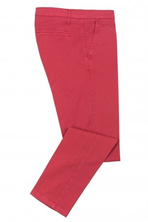 Pantaloni slim roz uni