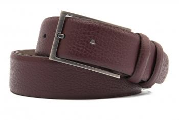 burgundy belt