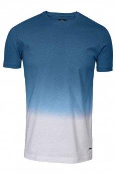 Tricou slim Albastru