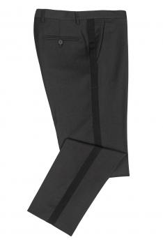 Grey Plain Trouser