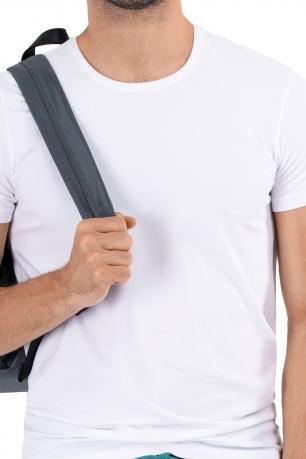 tricou alb uni
