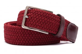 Curea Bordo Textil elastic si piele naturala
