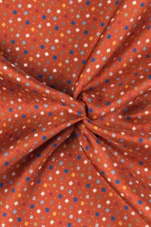 Batista oranj print geometric