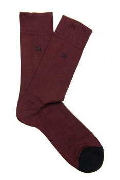 Socks Burgundy