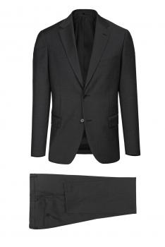 Slim Grey Plain Suit