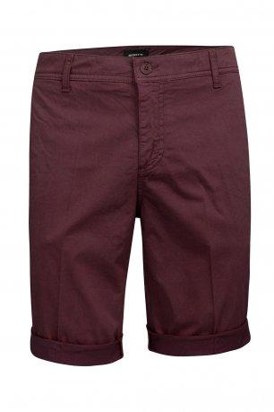 Pantaloni scurti grena uni