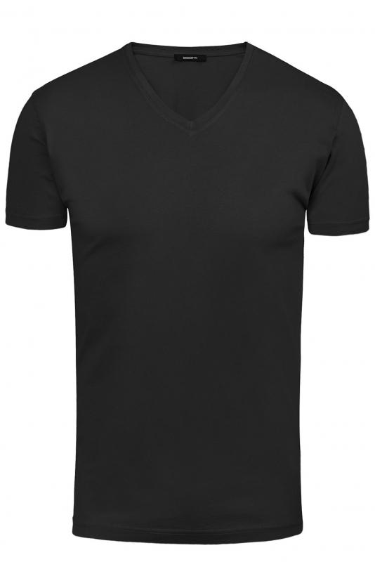 Tricou negru uni