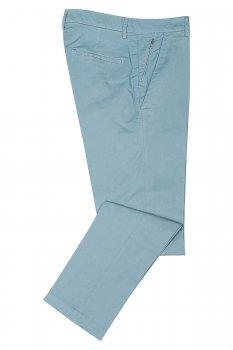 Pantaloni slim Bleu Uni