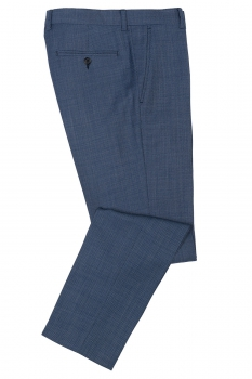 Slim body Blue Plain Trouser