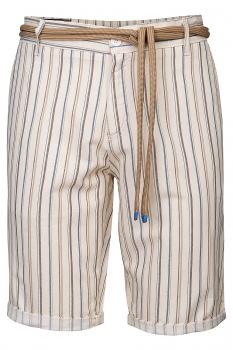 Slim body Beige Stripe Trouser