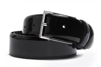 Belt Black Genuine leather