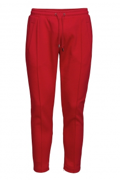 Slim body Red Plain Trouser