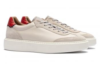 Grey Piele mata + piele velurata Shoes