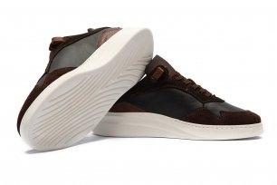 Sneakers Maro Piele naturala si piele intoarsa