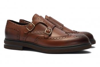 Pantofi Monk Maro Piele naturala