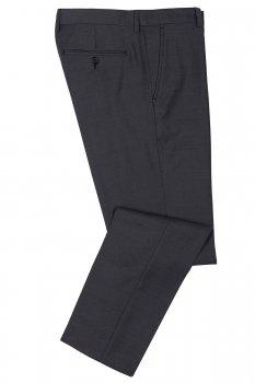 Pantaloni Conti slim Gri Uni