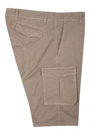 Pantaloni scurti bej uni