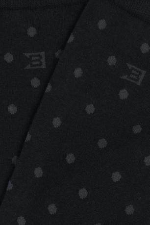 Sosete negre print geometric