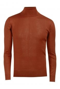 Slim body Orange Sweater