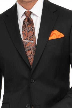 Costum superslim riccof negru uni