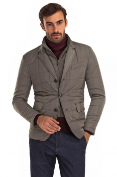 Beige Plain Jacket