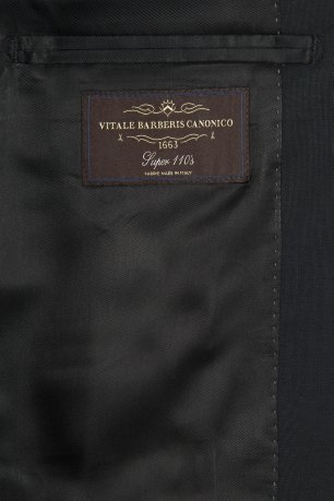 Costum slim erico negru uni