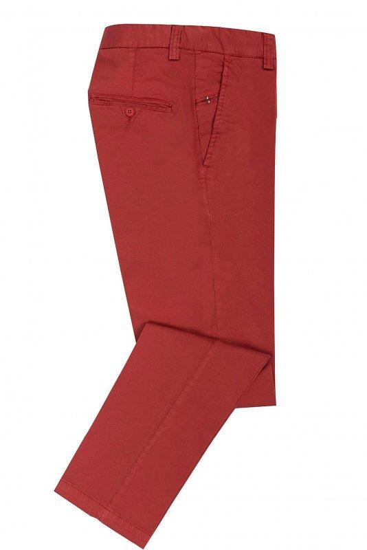 Pantaloni grena uni