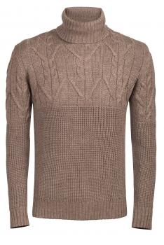 Slim Beige Sweater
