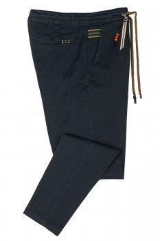 Pantaloni confort Bleumarin Uni