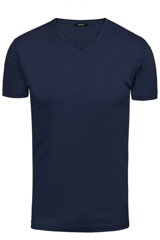 Tricou bleumarin uni