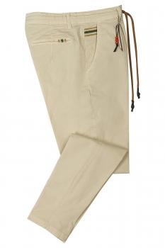Baggy Beige Plain Trouser