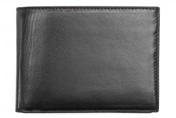Wallet Black Genuine leather