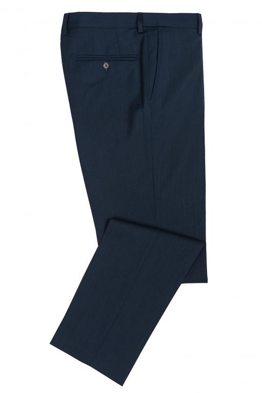 Pantaloni superslim riccof albastri uni