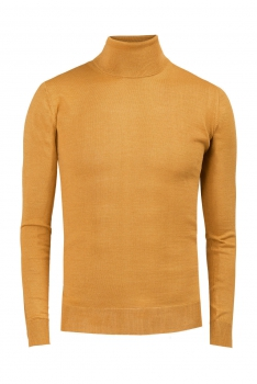 Slim body Yellow Sweater