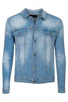 Light blue Plain Jacket