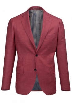Red Plain Blazer