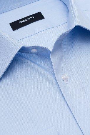 Camasa shaped bleu uni