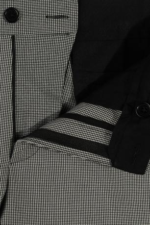 Pantaloni Gri print Geometric