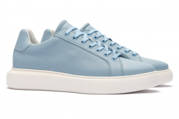 Blue Genuine leather Shoes